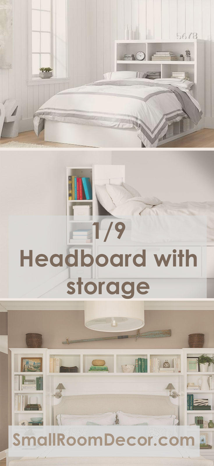 Top 9 Small Bedroom Storage Ideas in 2019 - Organization Hacks
