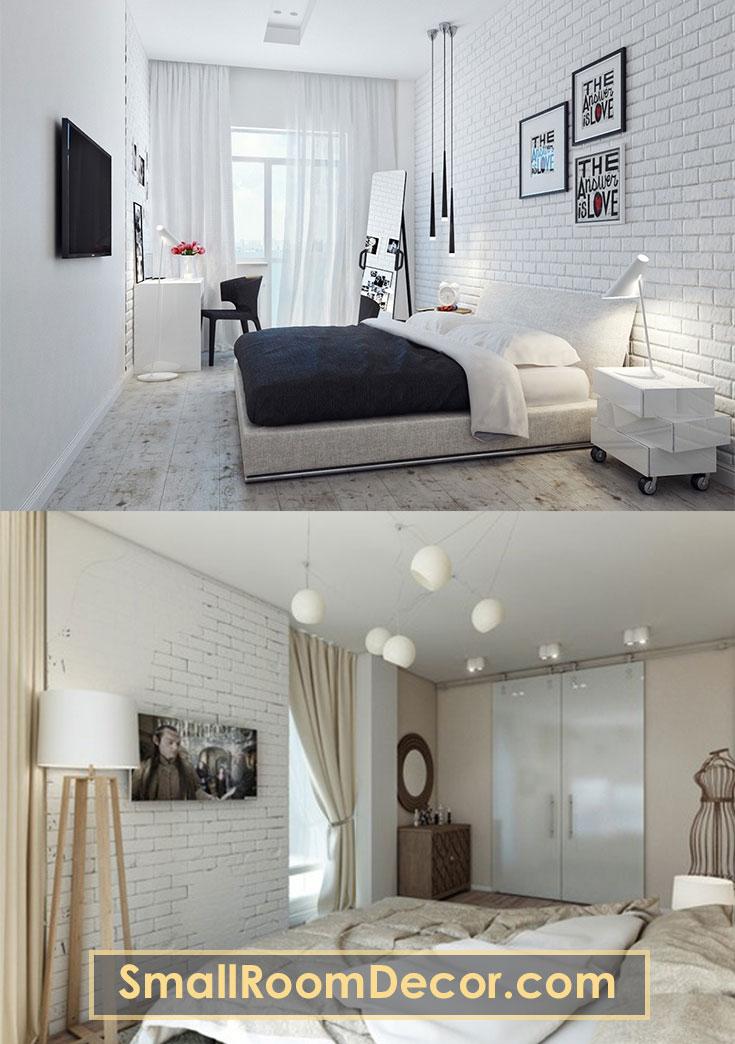 Lights as accessories in small bedroom #bedroomlighting