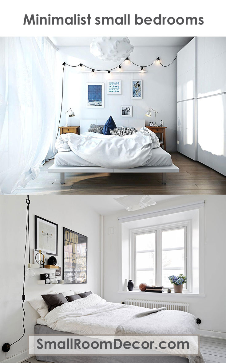 Diy Bedroom Ideas For Small Rooms Design: 9 Modern Small Bedroom Decorating Ideas [Minimalist Style