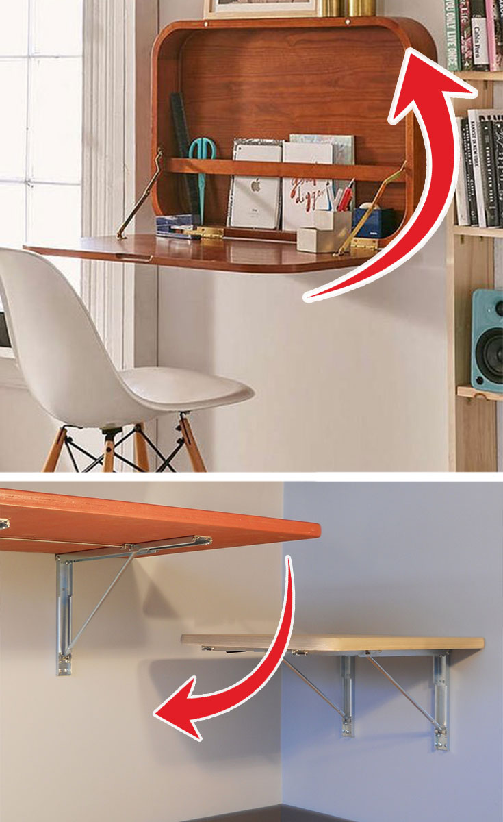 The perfect workspace fora small room #bedroomfurnituresets