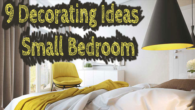 9 Modern Small Bedroom Decorating Ideas [Minimalist style on ...