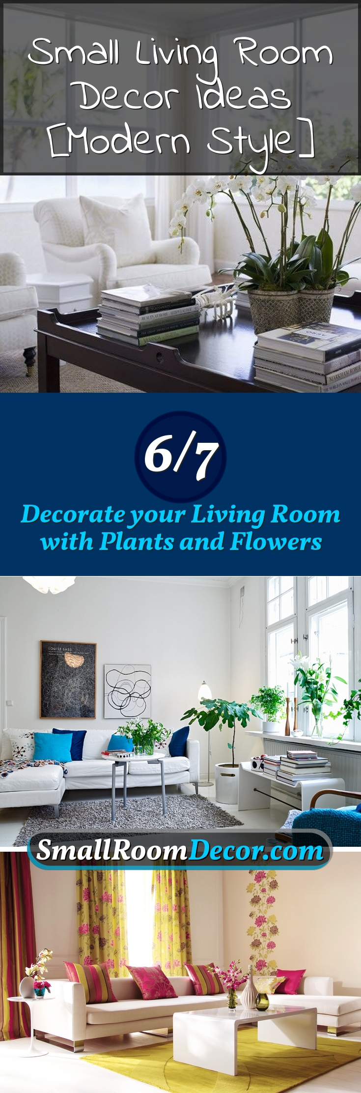 #flowers in #livingroommodern