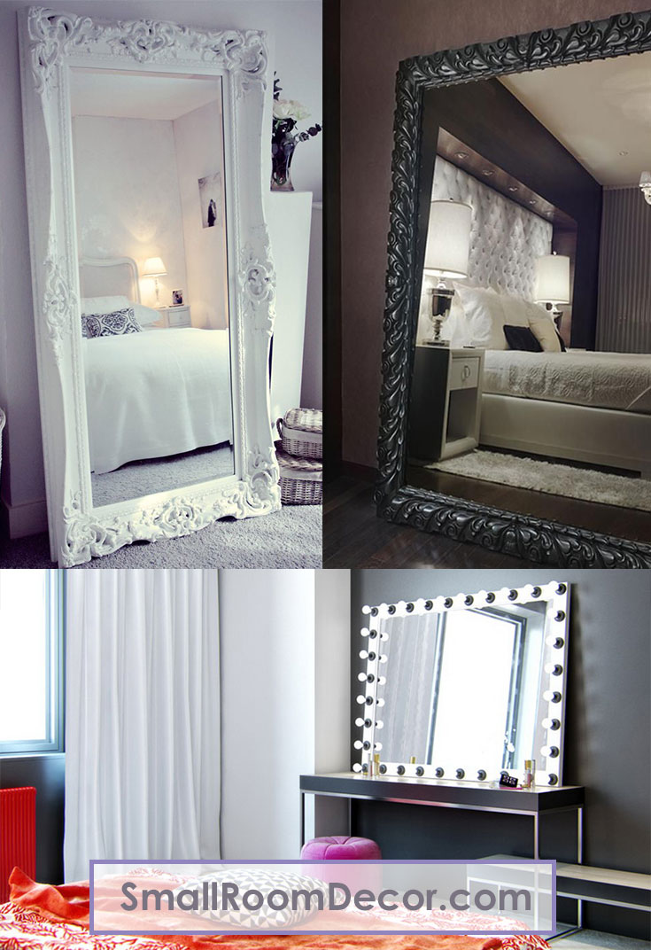 #mirrors ideas for small bedroom