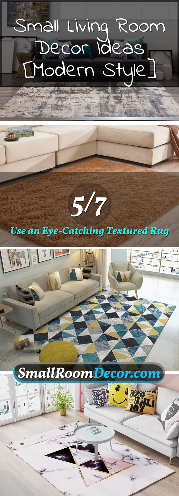 #rug in a #livingroom