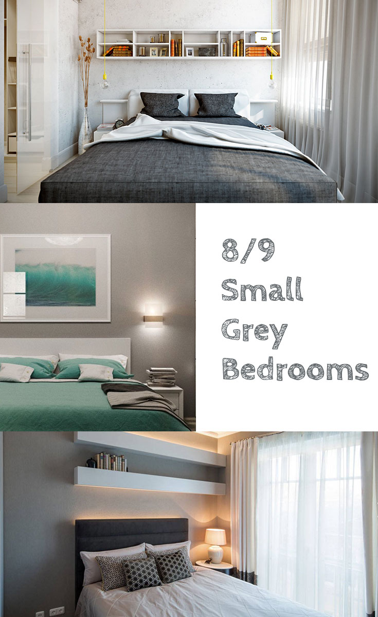 Small #grey bedrooms