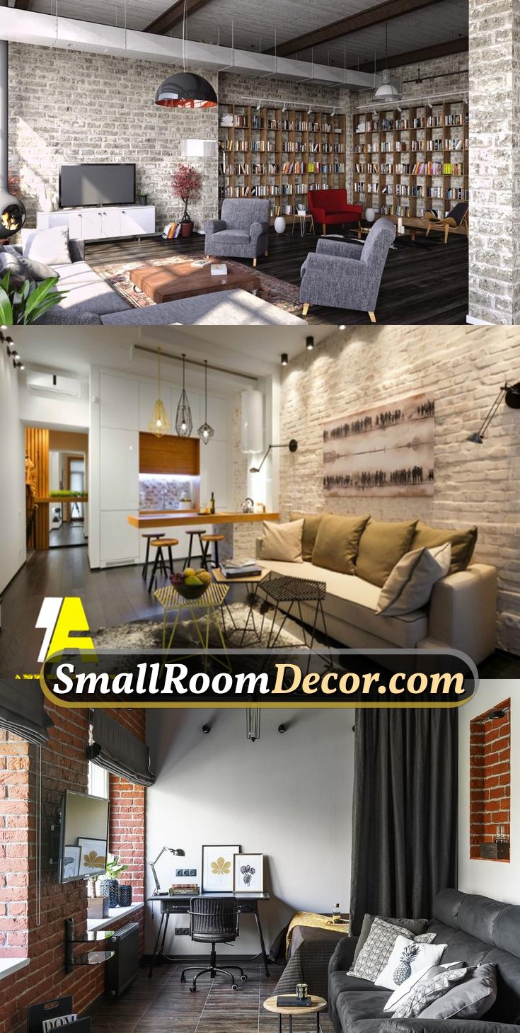 #smalllivingroom in industrial style