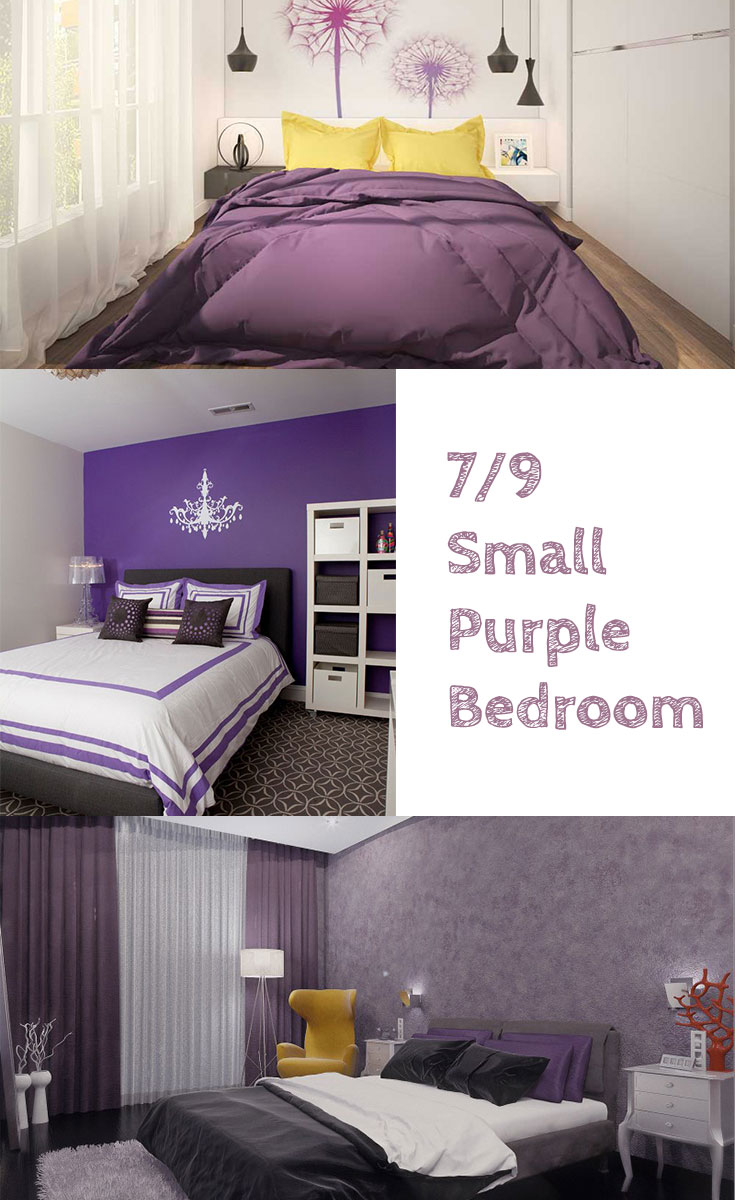 Small #purple #bedrooms