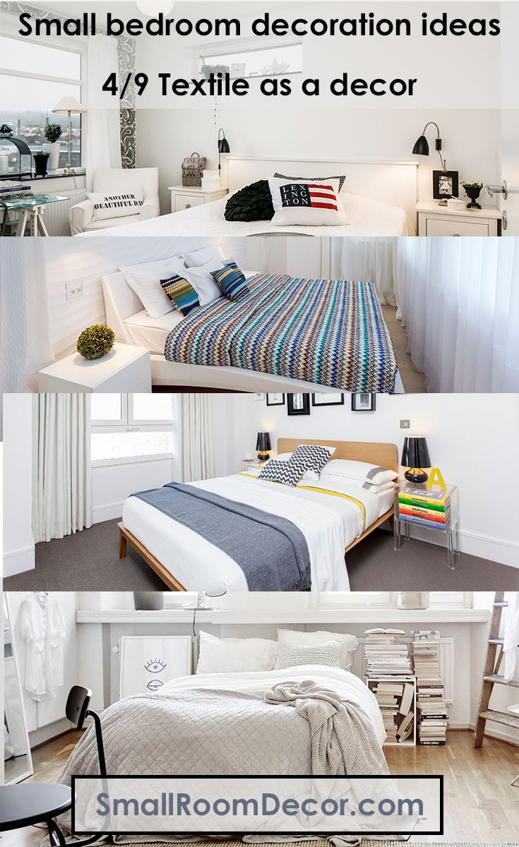 #textile as a decor for small bedroom #bedroomideasforsmallrooms