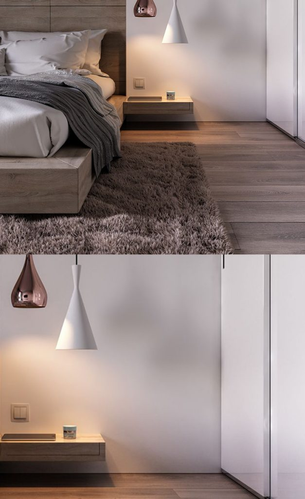 industrial contemporary modern bedroom #bedroominterior #design #bedroomstyle