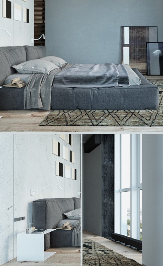 industrial look bedroom furniture #bedroomwalldecor #bedroom #designinspiration