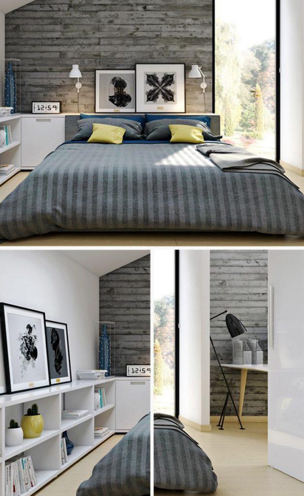 industrial style bedroom wall lights #homedecor #bedroominteriordesign #bedroomstyle