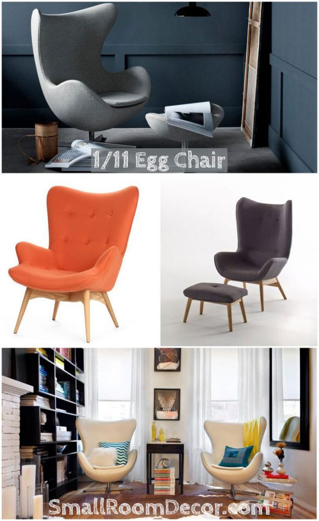 11 Types of Accents Chairs for Living Room:107 Photo