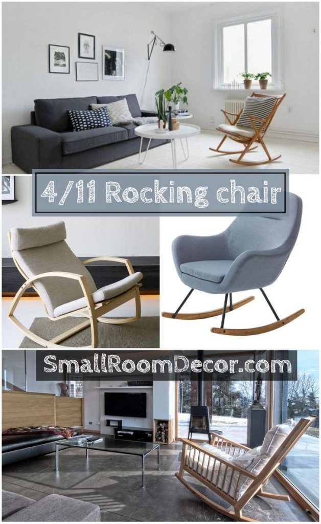 fabric rocking chairs living room furniture #rockingchair #chairlivingroom #accentchairs