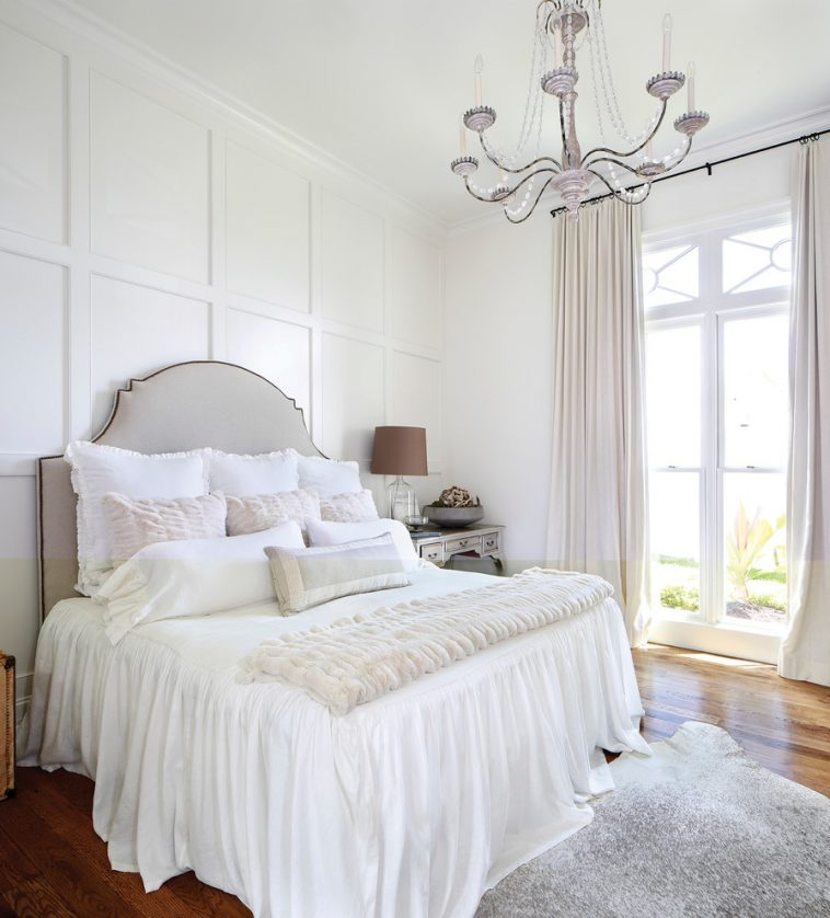 white bedroom blackout curtains #lampbedroom #wallsconces #homedesign