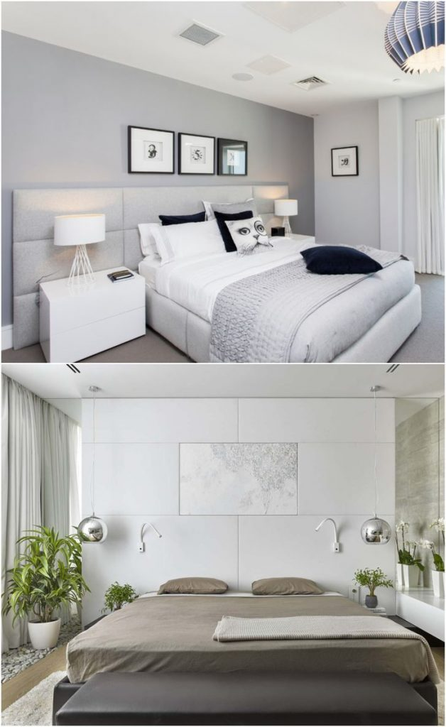white bedroom ideas modern #designhouse #lamp #bedroomdecorideas