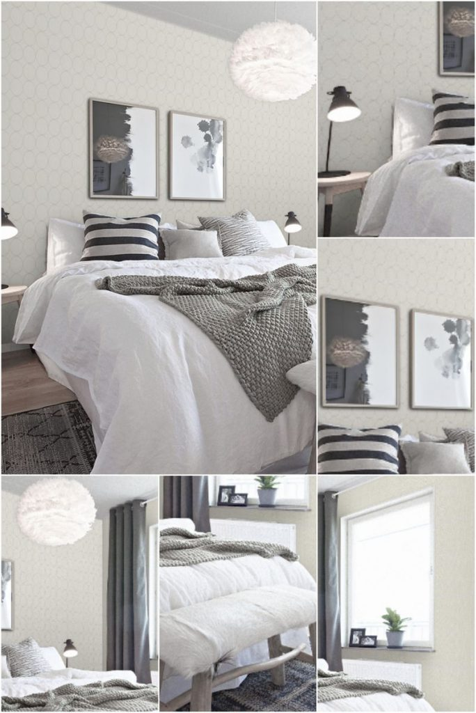 white bedroom linen ideas #lampbedroom #designlamp #diyhomedecortipsandideas